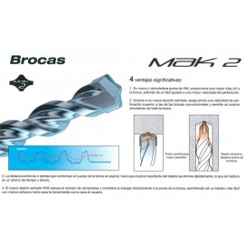 Broca SDS - plus MAK 2